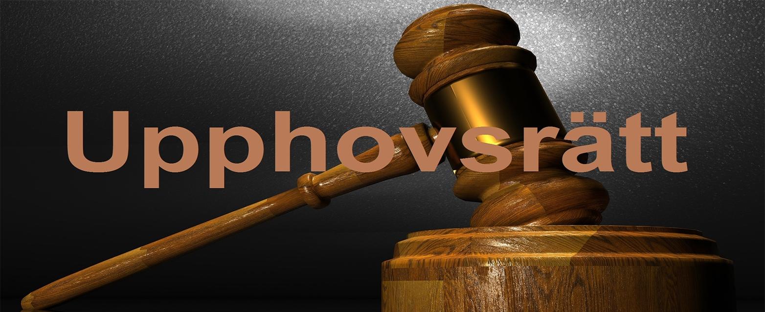 Upphovsrätt – Publikation   HI Law Firm