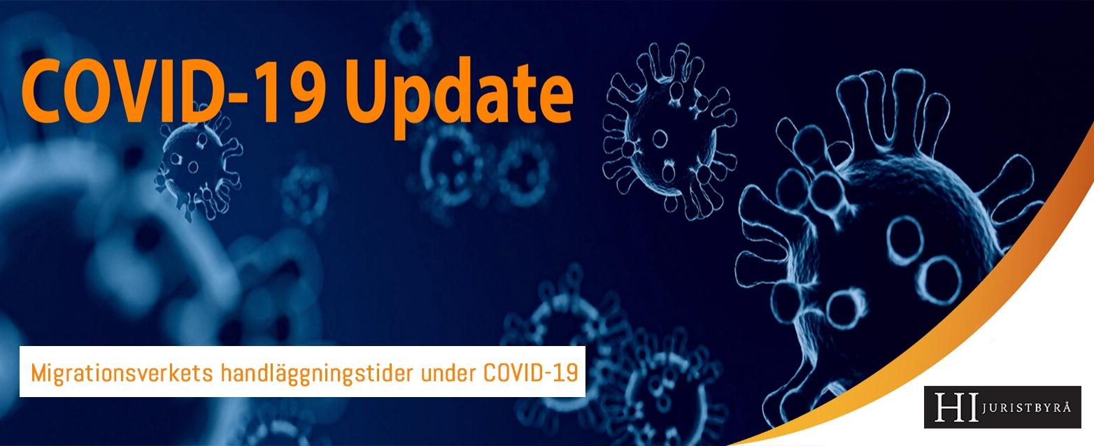 Migrationsverkets handläggningstider under COVID-19 | HI Law Firm