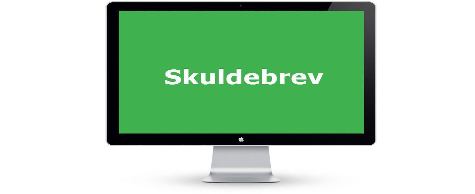 Skuldebrev | HI Law Firm